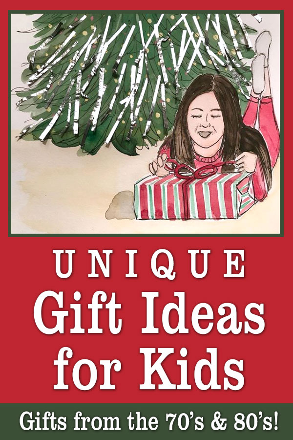 Unique Christmas Gift Ideas for Kids | Retro Holiday Gift Ideas Vintage Presents
