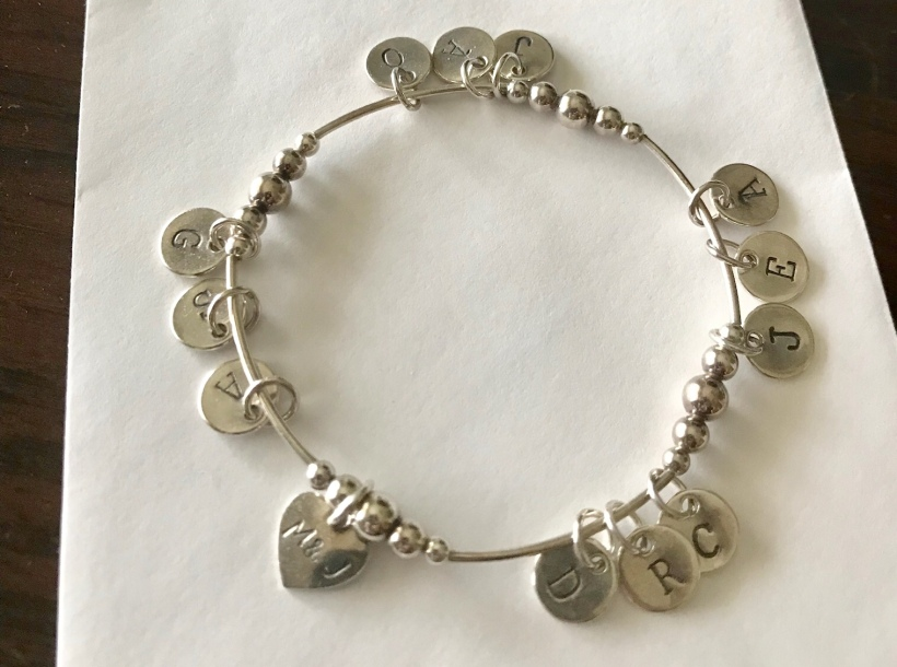 Personalized bracelet for grandma mom | Creative gifts for mother's day