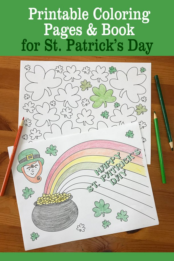 Class lesson about Ireland for St. Patrick's Day coloring pages kid's activity