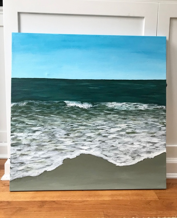 Acrylic Seascape painting