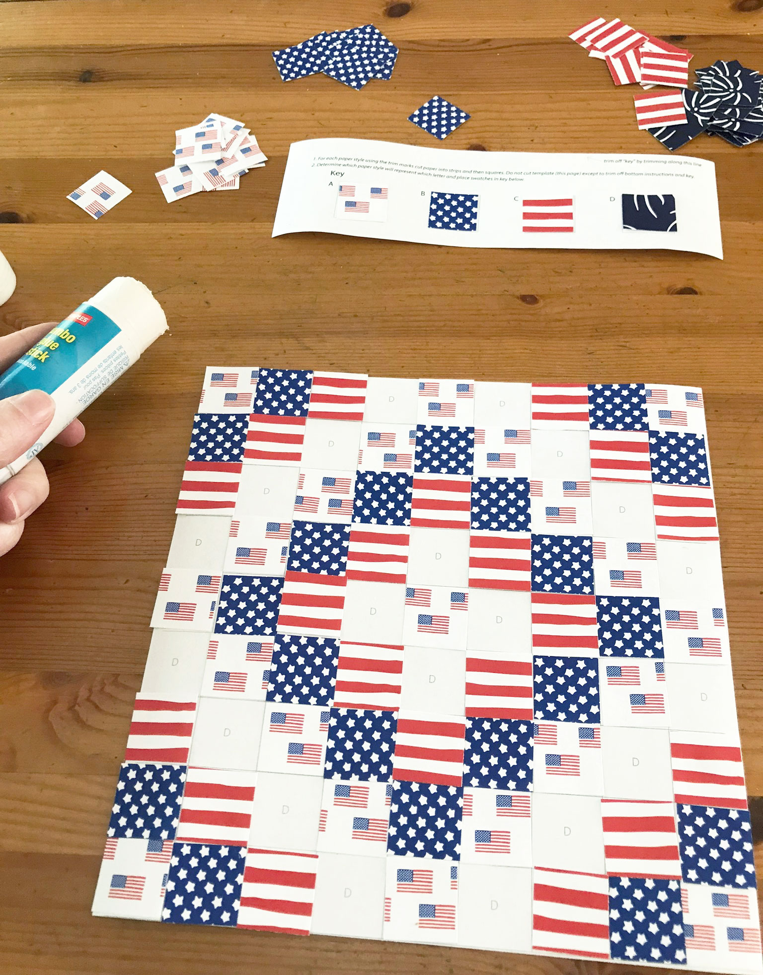 4th of July   Independence Day kids craft activity