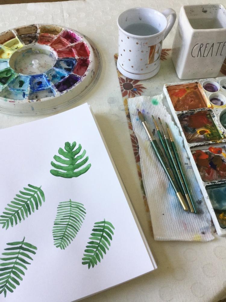Practicing creativity not creative practice