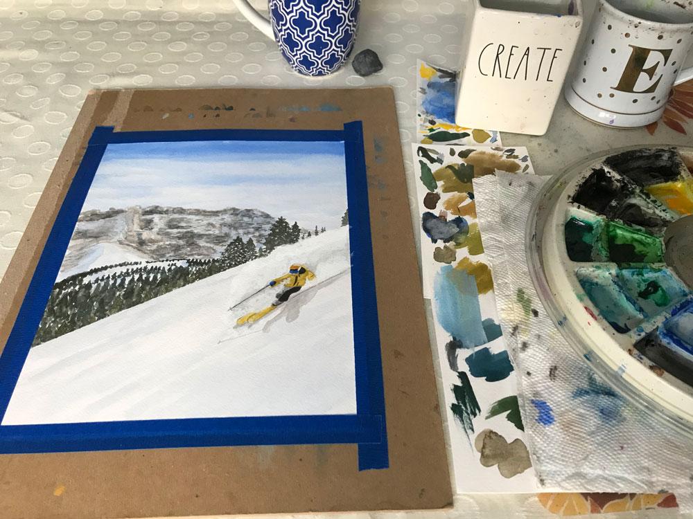 Daily Painting Challenge   Regular Creativity Creative Practice