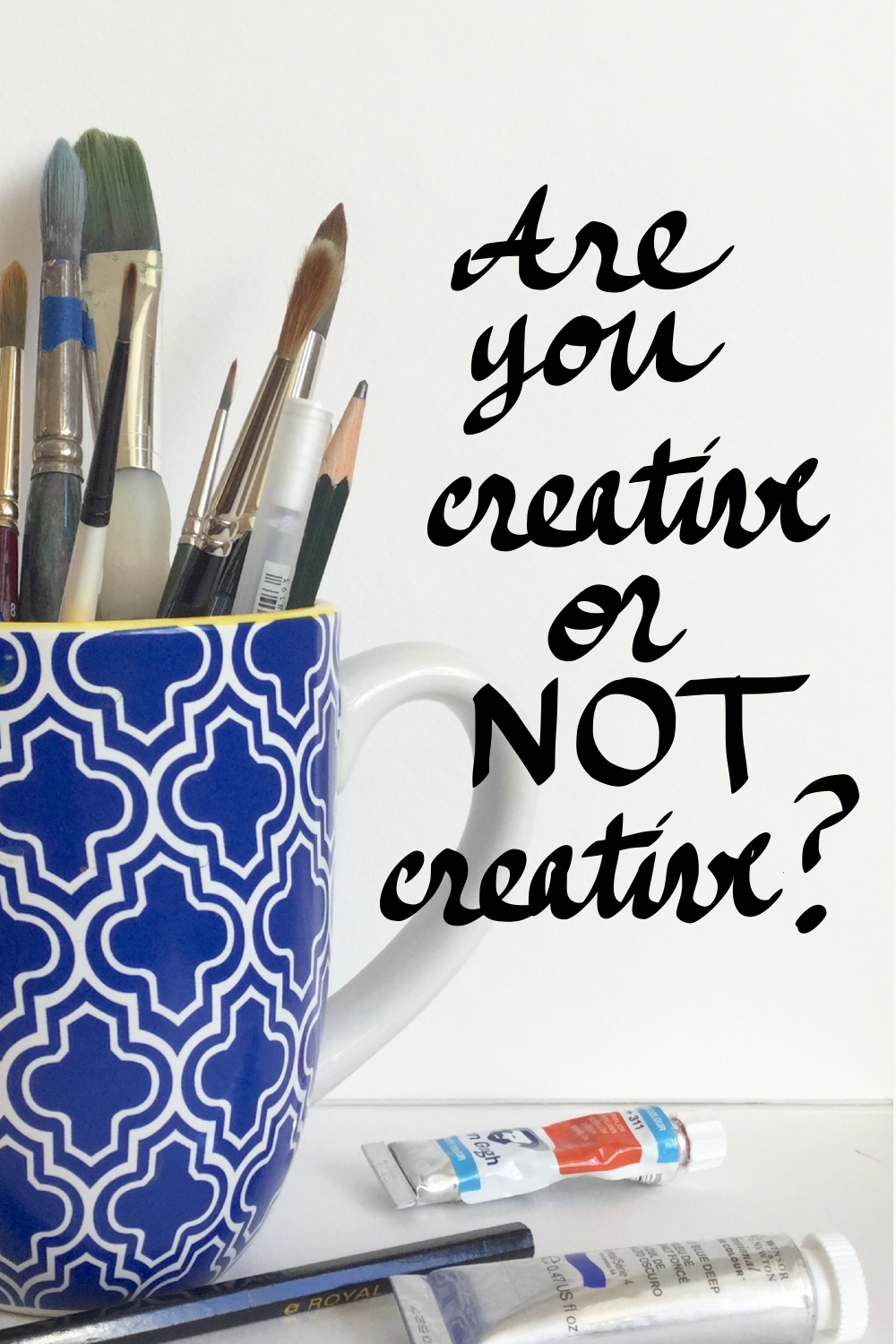 Are you creative or not creative?