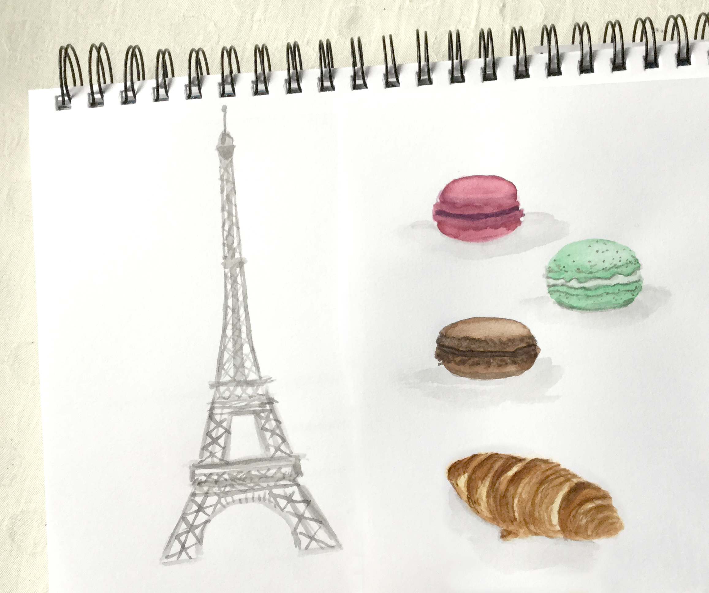lets paint Paris in Watercolor an email series | Learn Watercolor