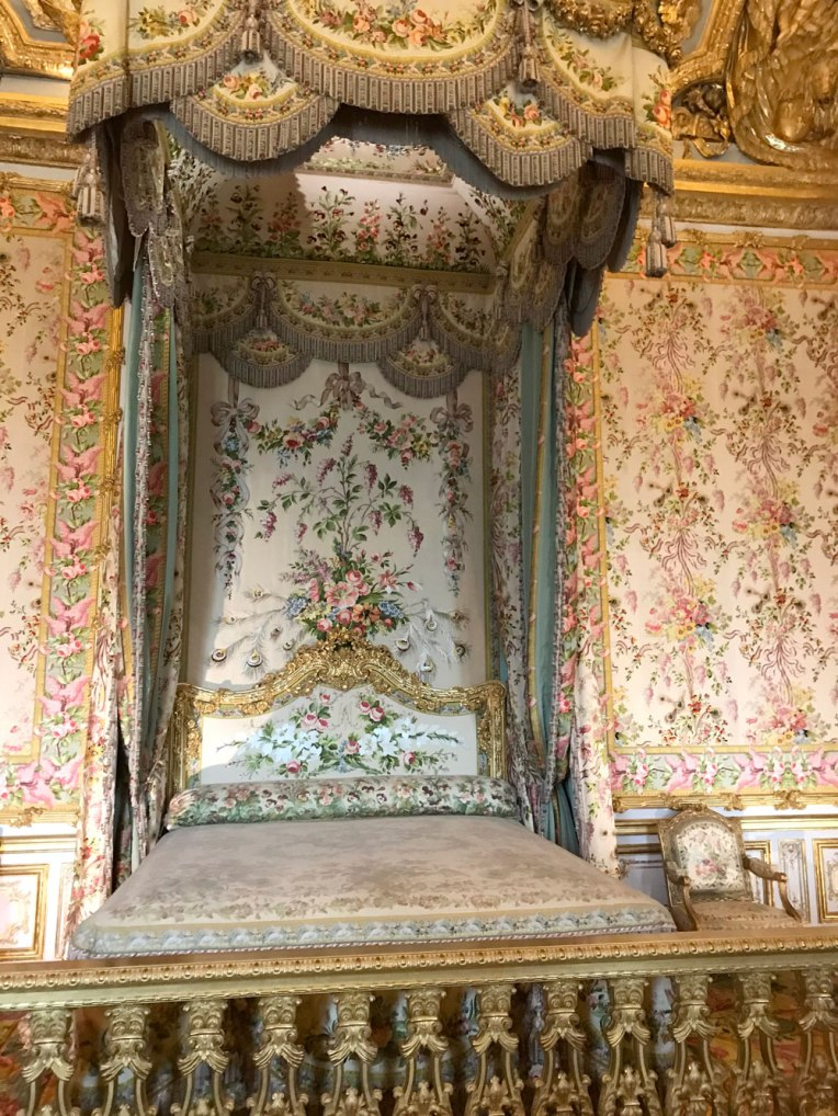 marie Antionette bed chamber