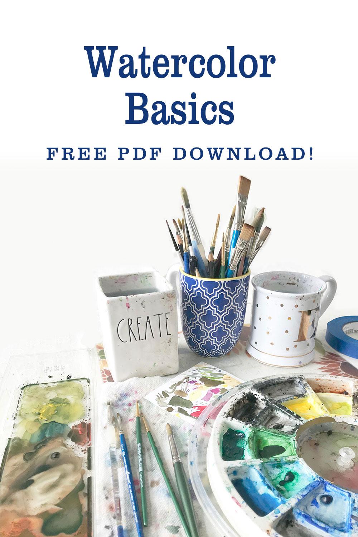 Watercolor Basics free pdf download