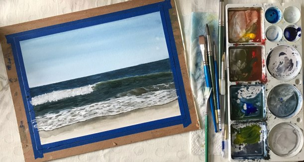 Seascape Painting Lesson