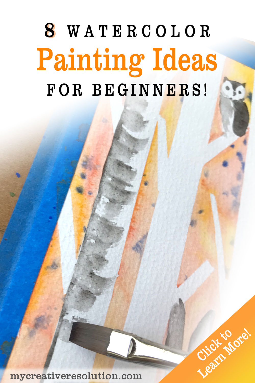 Eight Watercolor Painting Ideas for Beginners