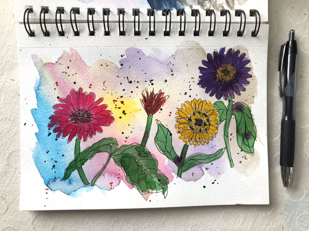 Spring Sketchbook Share - join in!