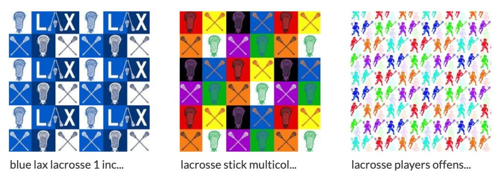 Lacrosse fabrics - unique fabrics